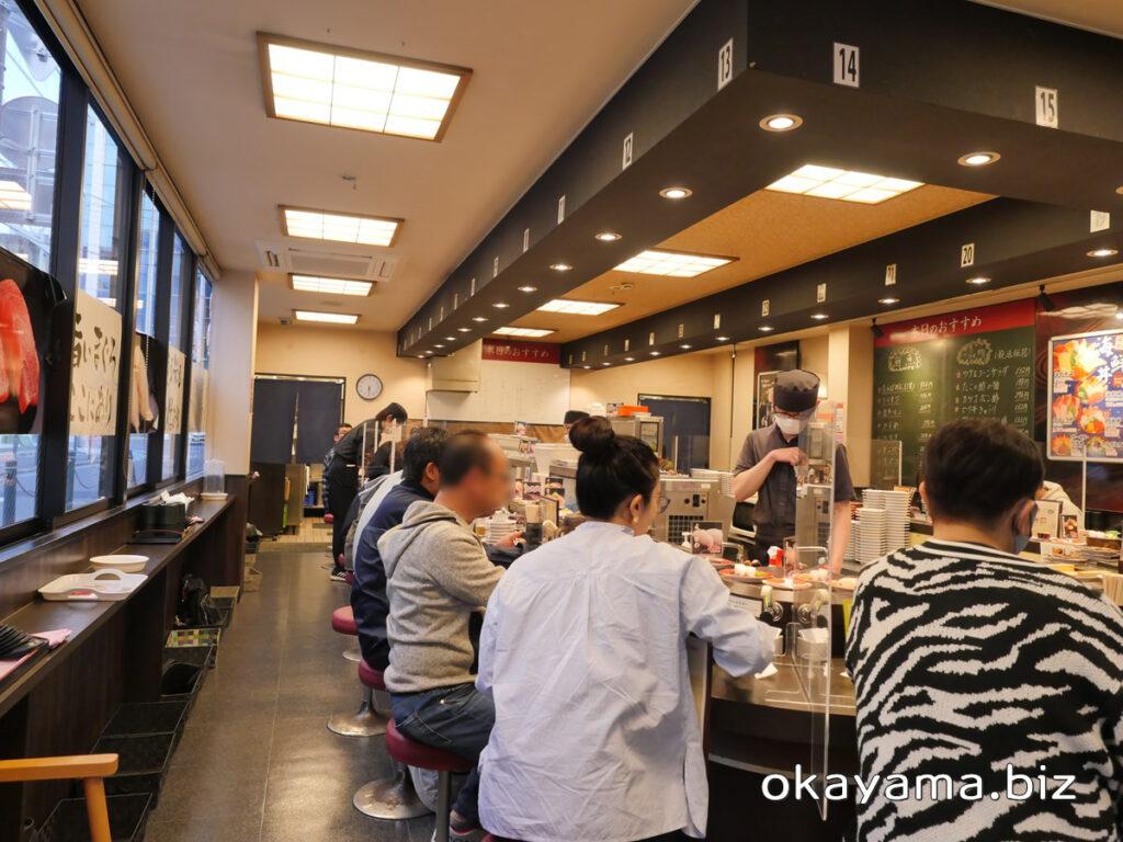 海都(マリンポリス)岡山駅前店 店内の様子 okayama.biz