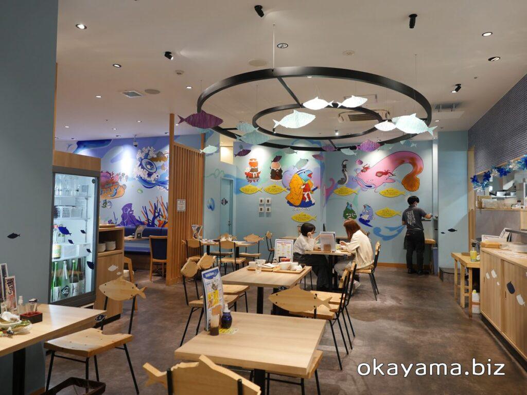さば料理専門店 SABAR+岡山店 店内の様子 okayama.biz