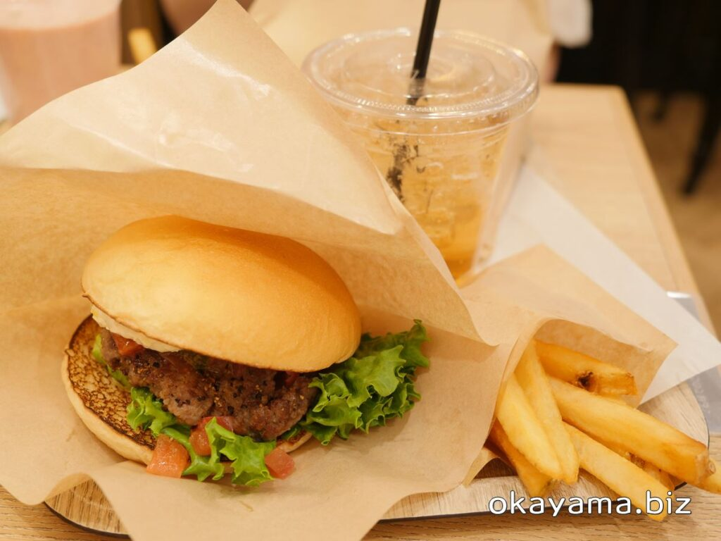 the 3rd Burger(サードバーガー)トマトバジルバーガーセット okayama.biz